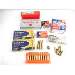 LONG RIFLE ASSORTED AMMO, BRASS CASES, CO2 POWERLETS, PELLETS