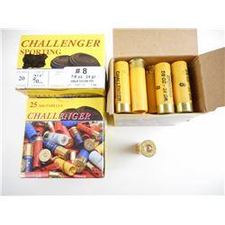 CHALLENGER 20 GAUGE SHOTGUN SHELLS
