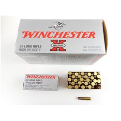 WINCHESTER 22 LONG RIFLE HIGH VELOCITY AMMO