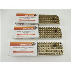 WINCHESTER SXT CONTROLLED SXPANSION 9MM LUGER AMMO