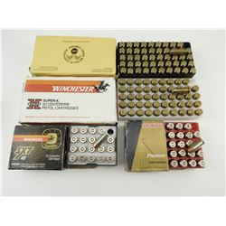 40 SMITH & WESSON ASSORTED AMMO