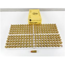 UMC 9MM LUGER FACTORY AMMO