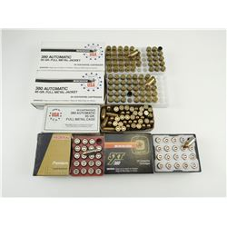 380 AUTO ASSORTED AMMO