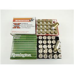 45 AUTOMATIC, ASSORTED AMMO