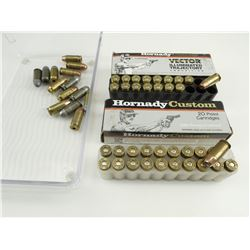 45 + P, AND 45 ACP, FACTORY AND RELOADED AMMO