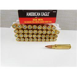 AMERICAN EAGLE 308 WIN AMMO