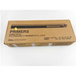 WINCHESTER LARGE PISTOL PRIMERS