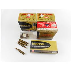 LONG RIFLE ASSORTED AMMO, 308 WIN, 22 LR, 12 GA ASSORTED