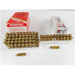 44 REM MAG AMMO, BRASS CASES