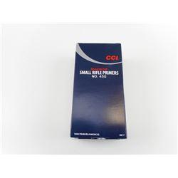 CCI SMALL RIFLE PRIMERS, MAGNUM NO 450