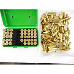 45-70 RELOADED AMMO, BRASS CASES