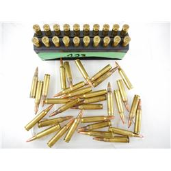 .223 REM ASSORTED AMMO, INCLUDES