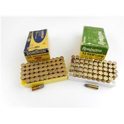 32 S&W LONG, 38 S&W ASSORTED AMMO