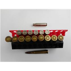 .303 BRITISH AMMO, 308 WIN BRASS CASES