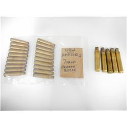HERTERS 7MM NEW PRIMED BRASS, 375 REM BRASS