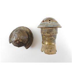 DETINATED FUZES FROM SHELLS