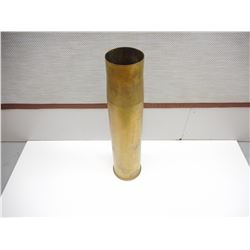 CDN MILITARY 105MM LEAPOLD TANK ROUND BRASS CASE -C4
