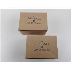 .303 BALL MILITARY AMMO