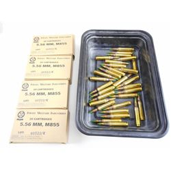 ISRAEL MILITARY INDUSTRIES 5.56MM M855 AMMO