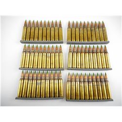 5.56MM (223)MILITARY AMMO ON STRIPPER CLIPS