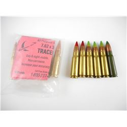 7.62 X 39 TRACERS, ASSORTED MFG'S