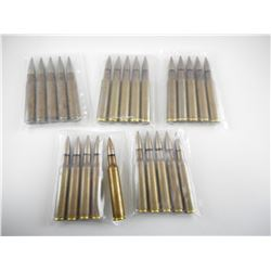 MILITARY .30-06 FMJ AMMO