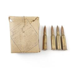 7.62 X 54R AMMO, STRIPPER CLIPS