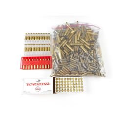 BRASS CASES ASSORTED, INCLUDING 30 CARB, 303 BRIT,308 WIN, 9MM LUGER