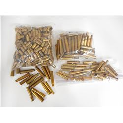 303 BRITISH, 30-30, 30-06, 9MM ASSORTED BRASS CASES