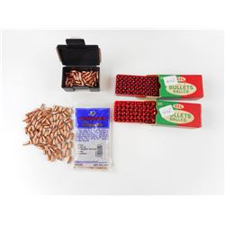 "22 CAL (.224"") BULLETS ASSORTED"
