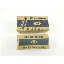 """.358"""" DIA BULLETS"""