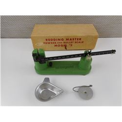 REDDING MASTER POWDER AND BULLET SCALE MODEL # 2