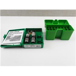RCBS 30-30 WIN RELOADING DIES, MTM RF22 AMMO BOX