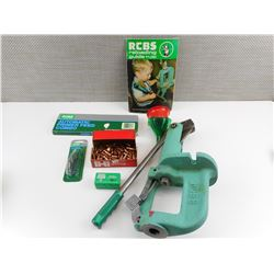 RCBS JR2 RELOADING PRESS, ACCESSORIES