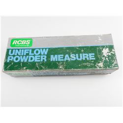 RCBS UNIFLOW POWDER MEASURE SMALL AND LARGE DRUMS