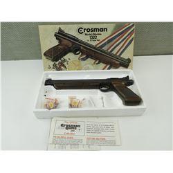 CROSMAN MODEL 1322 CAL.22 AIR PISTOL WITH FLETCHETS IN ORIGINAL BOX