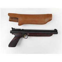 CROSMAN .22 CAL PELLET GUN WITH HOLSTER