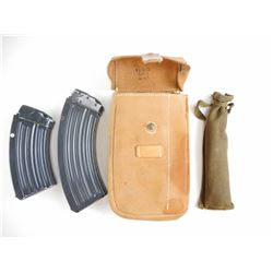 7.62X39 MAGAZINES FOR CZ 58/858 AND POUCH