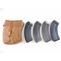 7.62X39 CZ 58/858 MAGAZINES AND POUCH
