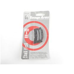 SAVAGE ARMS  .22CAL/.17MACH2 MAGAZINE NEW IN PACKAGE FOR SAVAGE, STEVENS AND LAKEFIELD RIFLES