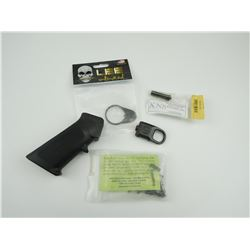 ASSORTED AR-15 LOWER PARTS & ACCESSORIES