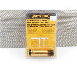 BROWNING DIAMOND GRADE EXTENDED 12 OR 20 GAUGE CHOKE TUBE.