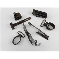 ASSORTED GUN/MILITARY PARTS