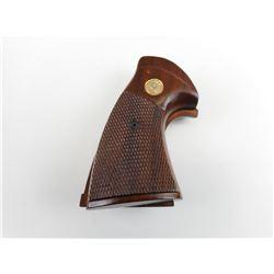 WOODEN COLT PYTHON HAND GUN GRIP