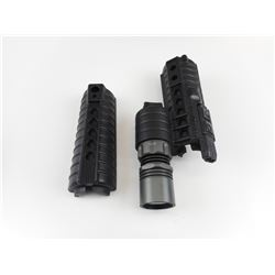 AR 15/MR HAND GUARDS AND FLASHLIGHT