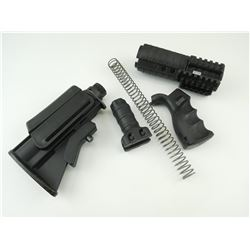 ASSORTED AR-15 M-4 STOCK PARTS