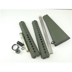 ASSORTED AR-15, A2 STOCK PARTS