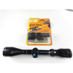 TASCO 3X-9X44 SCOPE WITH HOLDEN  SCOPE MOUNT