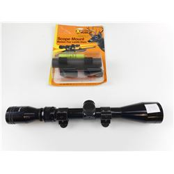 TASCO 3-9X40 SCOPE WITH HOLDEN MOUNT