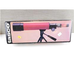 TASCO 20ER 15X-45X 50MM TELESCOPE IN BOX